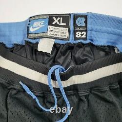 Vintage Rare Nike Jordan North Carolina Tar Talons Basketball Short Unc 82 XL