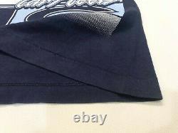 Vintage Salem Ncaa Unc Tar Talons All Over Imprimer T-shirt Navy Blue XL Tee USA