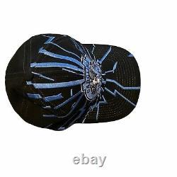 Vintage Tarheels Unc Starter Shatter Snapback Cap Carolina La Bonne Chapeau Bleu
