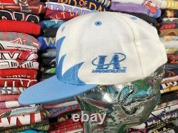 Vintage Unc Tar Talons Sharktooth Snapback Hat Cap North Carolina Logo Athletic