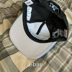 Vintage University Of North Carolina Tarheels Unc Graffiti Snapback Hat Tow Années 90