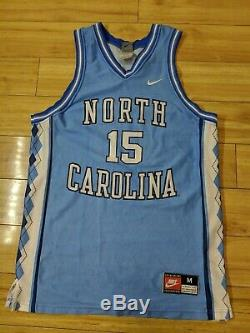 Vintage Vince Carter 1998 North Carolina Tar Heels Unc Ncaa Moyen Jersey Nba