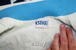 Vtg 1980 Bike Athletic Unc Rat Talons Hommes Caroline Satin Petite Veste USA