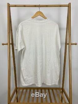 Vtg 1990 Les Simpson Bart Unc Caroline Du Nord Tar Heels T-shirt Taille XXL