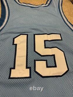 Vtg Hommes Nike Vince Carter #15 Sz XL 48 Unc North Carolina Tar Heels Jersey