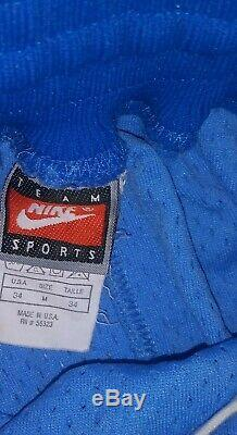 Vtg Nike Authentiques North Carolina Tar Heels Unc Mens Shorts M Ncaa Made In USA