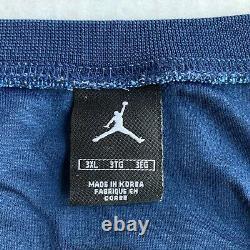 Vtg Nike Elite Michael Jordan Jersey Unc Tarheels Hommes 3xl Caroline Du Nord Marine