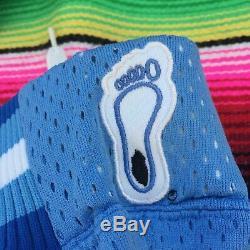 Vtg Nike North Carolina Tar Heels Unc Short De Basket-ball Authentique 32 S Jordan
