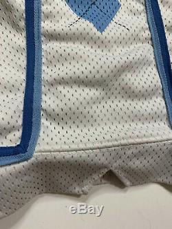 Vtg Nike Team Unc Caroline Du Nord Tar Heels Accueil Basketball Shorts 36 L
