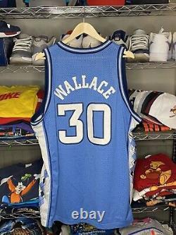 Vtg Nike Unc Caroline Du Nord Rasheed Wallace # 42 Basketball Jersey, Tar Heels XXL