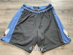 Vtg North Carolina Tar Heels Short Basketball Cousu Jordan Nike Unc'82 2xl XXL