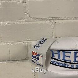Vtg North Carolina Tar Heels Unc Bar De Split Snapback Hat Le Jeu Des Tn-o New 90s