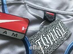 Vtg Nouveau Nike Tar Heels Caroline Du Nord Unc Jersey Baseball College Nwt Sz Ncaa L