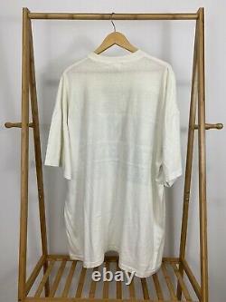 Vtg Officiel Unc Tar Heels Part Shirt Single Stitch Thin Big One Size S'adapte À Tous