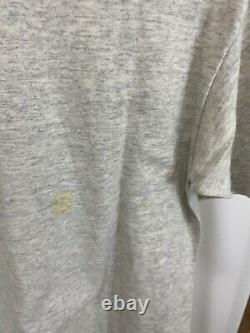 Vtg Unc Tar Talons Carolina Tri-blend Super Point Mince T-shirt Taille L USA