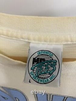 Vtg Unc Tar Talons Rameses Smokin' La Compétition T-shirt Taille L USA